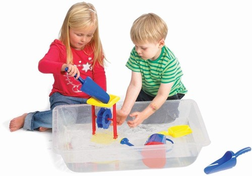 TickiT Sand & Water Tray Clear