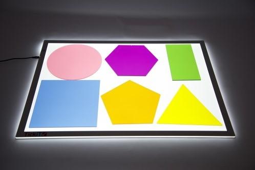 TickiT Jumbo Colour Mixing Shapes