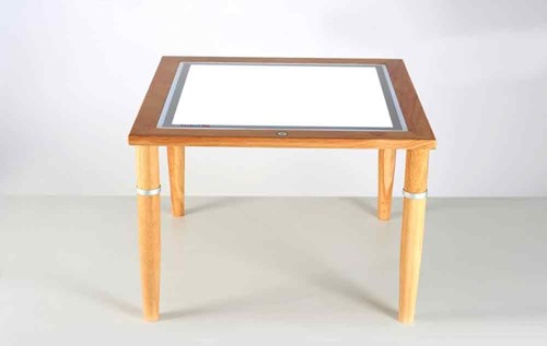 TickiT Wooden Light Table 600X600Mm