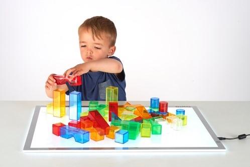 TickiT Translucent Colour Blocks