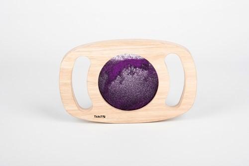 TickiT Easy Hold Glitter Panel - Purple