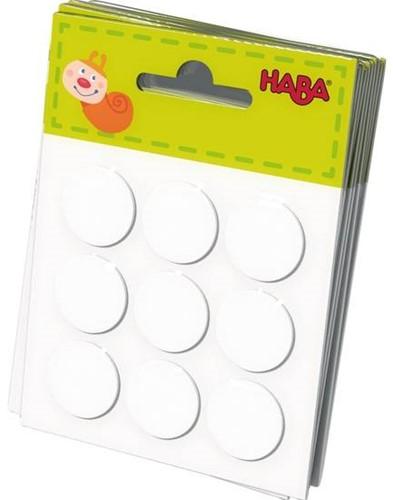 HABA Kleefpads voor Kakelbonte Houten letters (9 kleefpads)
