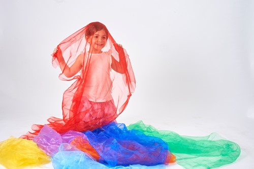 TickiT Rainbow Organza Pack 7 Colours