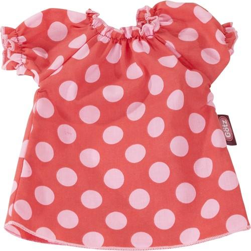 "Götz Basic Boutique, jurk """"Dotty"""", babypoppen 42-46 cm / staanpoppen 45-50 cm"