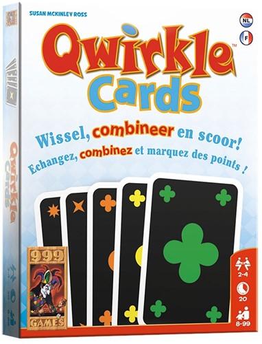 999 Games Qwirkle Cards - Kaartspel - 8+