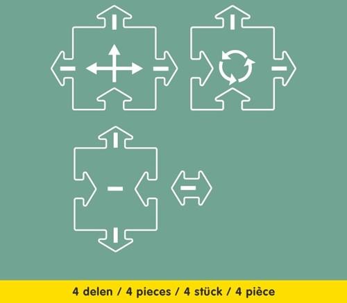 Waytoplay uitbreiding Kruispunten - 4 stuks