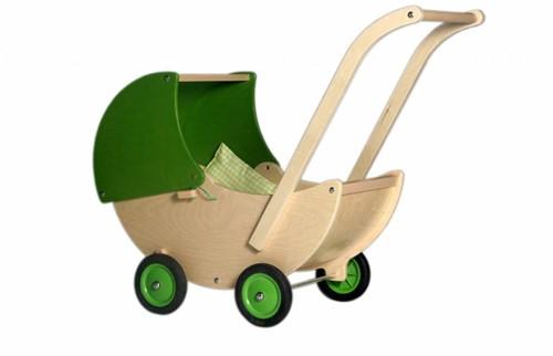Van Dijk Toys Poppenwagen limegreen
