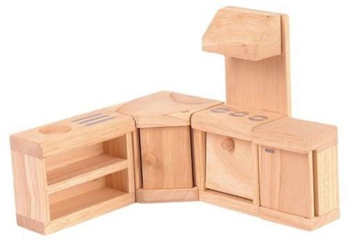 Plan Toys poppenhuis meubels klassieke Keuken