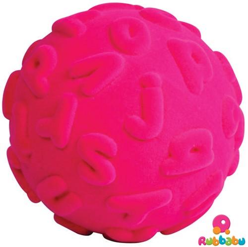 Rubbabu Ball Alphalearn (Pink)