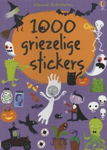 Usborne stickerboek 1000 griezelige stickers