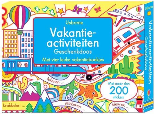 Usborne doeboek vakantieacticiteiten geschenkdoos