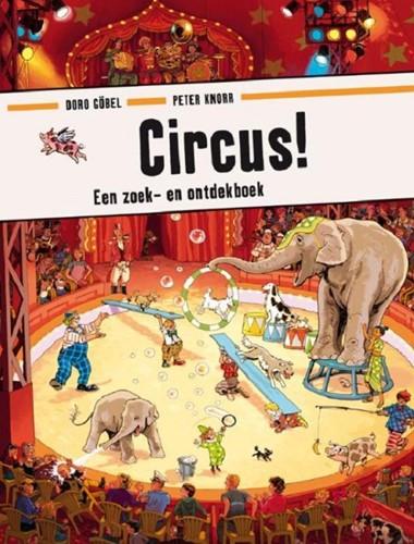Circus (zoek- en ontdekboek). 3+