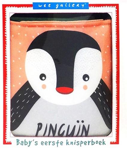 Wee gallery Stoffen knisperboek pinguïn. 0+