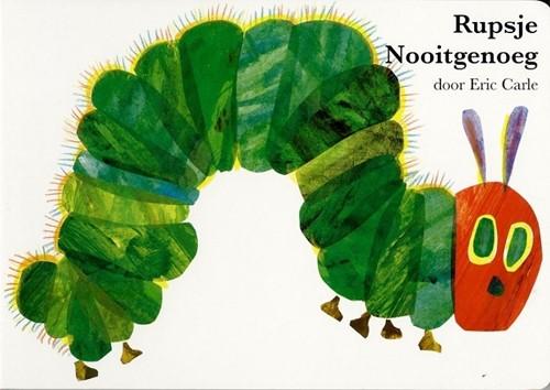Rupsje Nooitgenoeg (karton groot). 3+