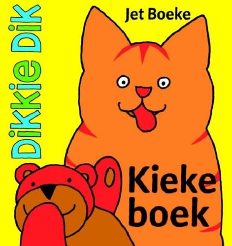 Dikkie Dik kiekeboek knisper. 9 mnd+