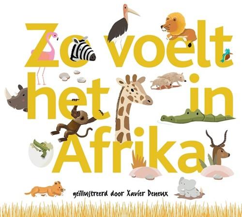 Kinderboek Zo voelt het in Afrika. 2+