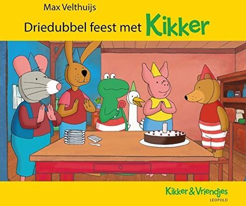 Driedubbel feest met Kikker. 2+