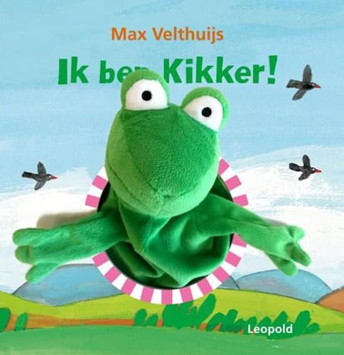 Ik ben Kikker (kartonboek met handpop).