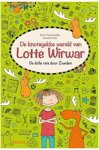 Deltas De knotsgekke wereld van Lotte Wirwar - De dolle reis door Zweden