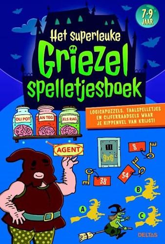 Deltas Het superleuke griezelspelletjesboek (7-9 j.)