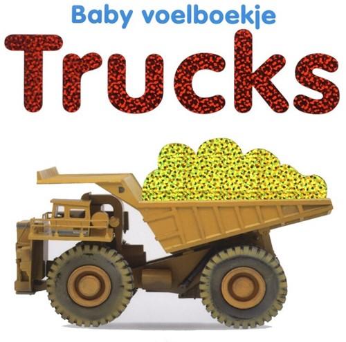 Baby voelboekje: Trucks 0+