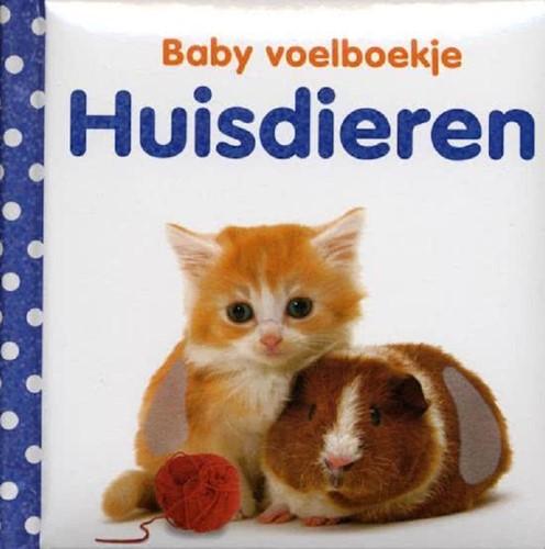 Kinderboek Baby voelboekje: Huisdieren. 0+