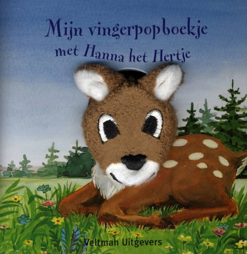 Kinderboeken  babyboek Vingerpopboekje met Hanna het