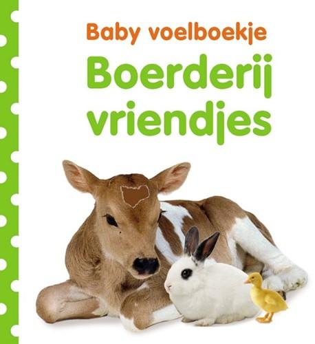 Kinderboek Baby voelboekje: Boerderijvriendjes. 0+
