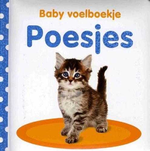 Kinderboek Baby voelboekje: Poesjes. 0+