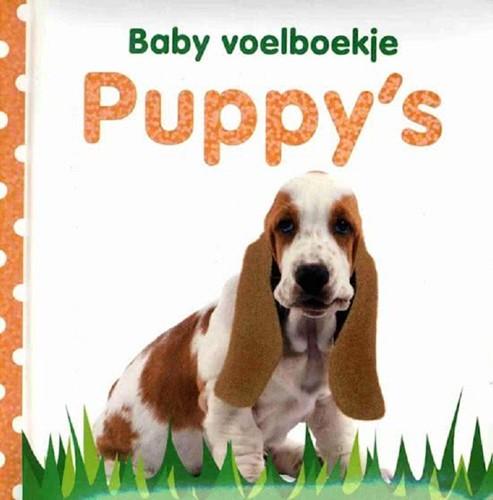 Kinderboek Baby voelboekje: Puppy's. 0+