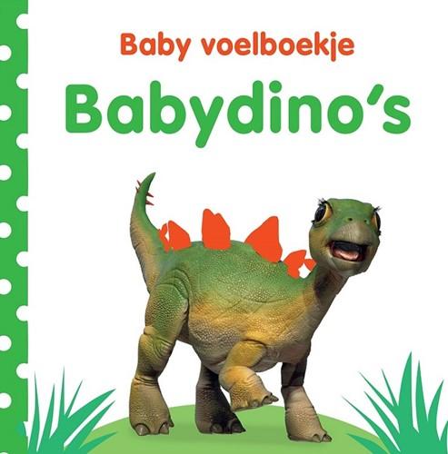 Kinderboek Baby voelboekje: Babydino's. 0+