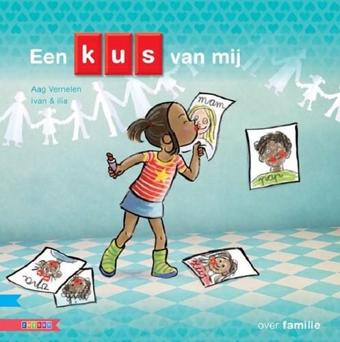 Zwijsen Kleuters samenleesboeken informatief - Een kus van mij