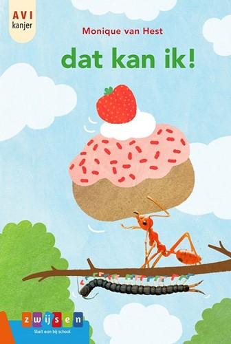 Kinderboek AVI-Start: Dat kan ik