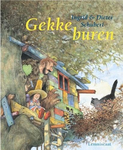 Lemniscaat prentenboek Gekke buren. 4+