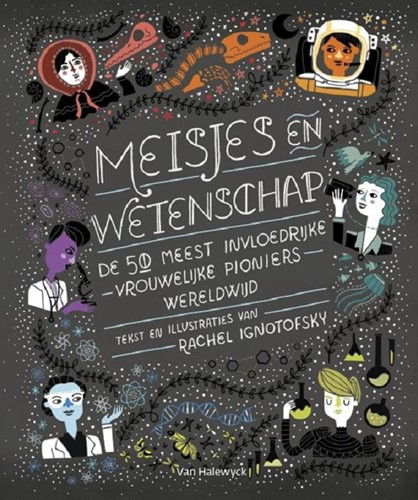 Kinderboeken educatieboek meisjes en wetenschap