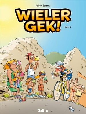 Stripboeken  Wielergek deel 7