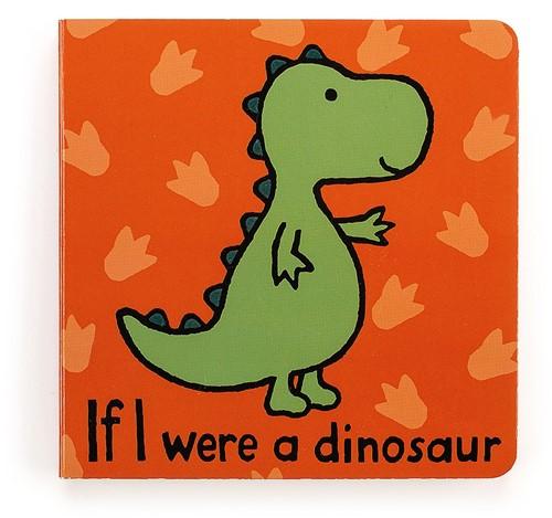 Jellycat - Als Ik Een Dinosaurus Was Boekje - 15cm