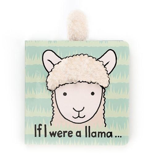 Jellycat - Als Ik Een Lama Was Boek - 15cm