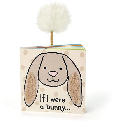 Jellycat If I were a Bunny Board Book (Beige)