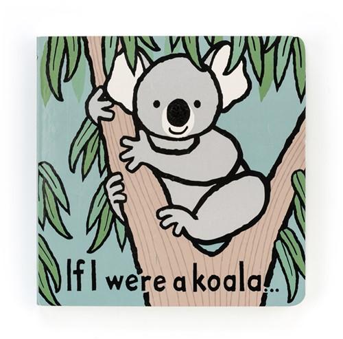 Jellycat - Als ik een koala was Boekje - 15x15cm