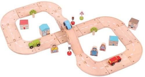 Bigjigs Figure of Eight Roadway