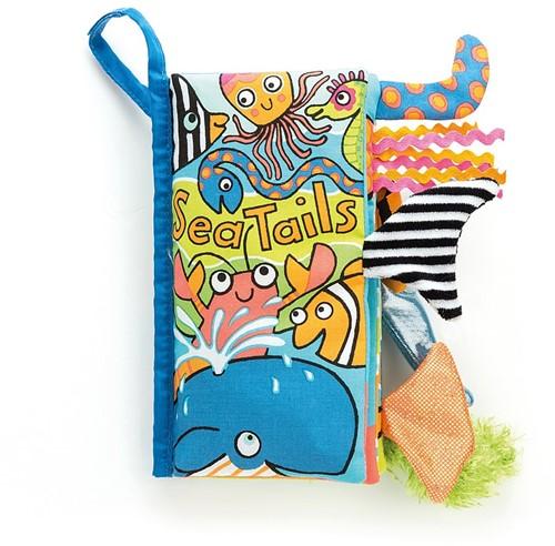 Jellycat staartenboek Zee
