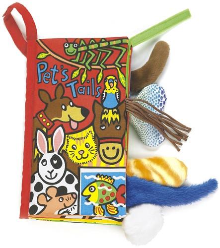 Jellycat staartenboek Huisdieren