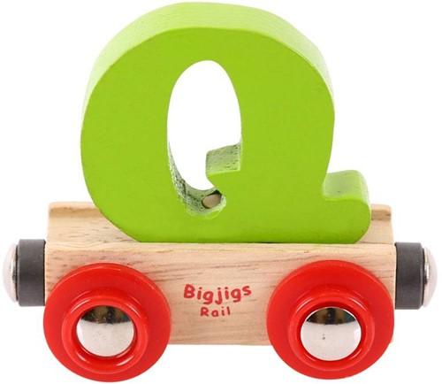 Bigjigs Rail Name Letter Q (6)