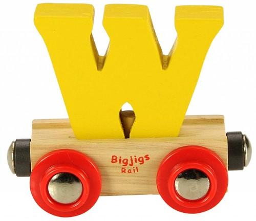 Bigjigs Rail Name Letter W (6)