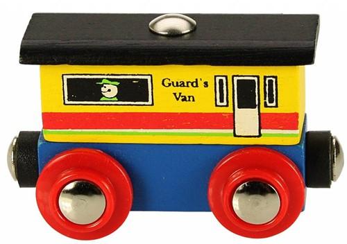 Bigjigs Rail Name Guards Van (6)