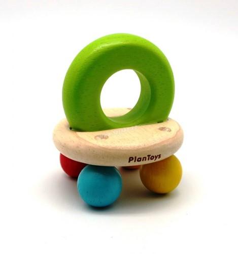 Plan Toys  houten rammelaar Bell rattle