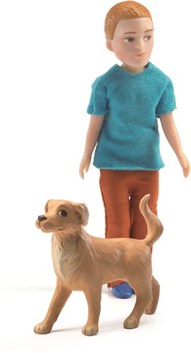 Djeco Xavier et son chien