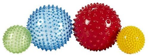 Edushape Sensorische Ballen Mega-verpakking - 4 stuks