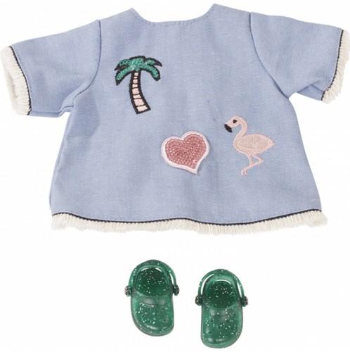 Götz accessoire Babyensemble Jeans Strand,30cm